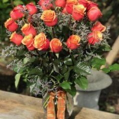 Cherry brandy roses
